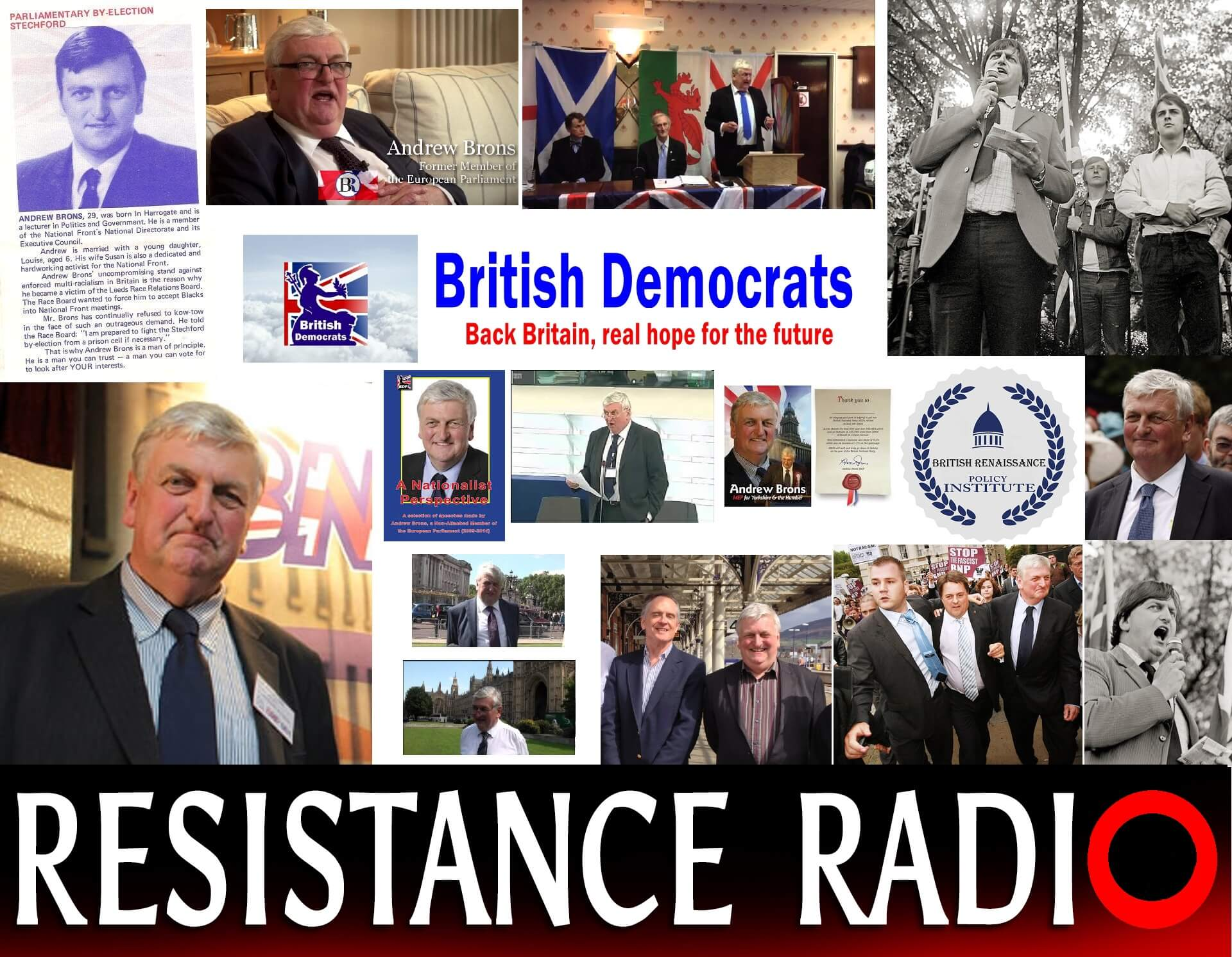 A British Renaissance with Andrew Brons (MEP)