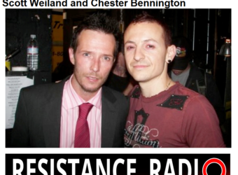 Chester Bennington an Scott Weiland