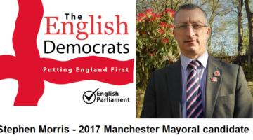 Stephen morris English democrats