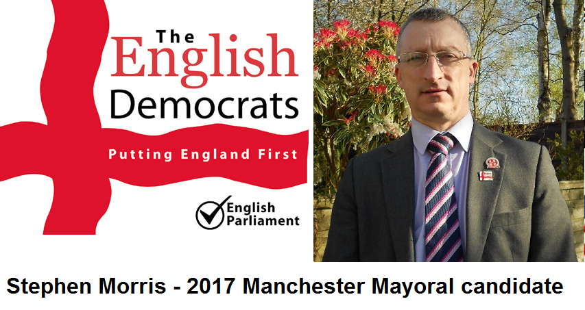 Stephen morris English democrats